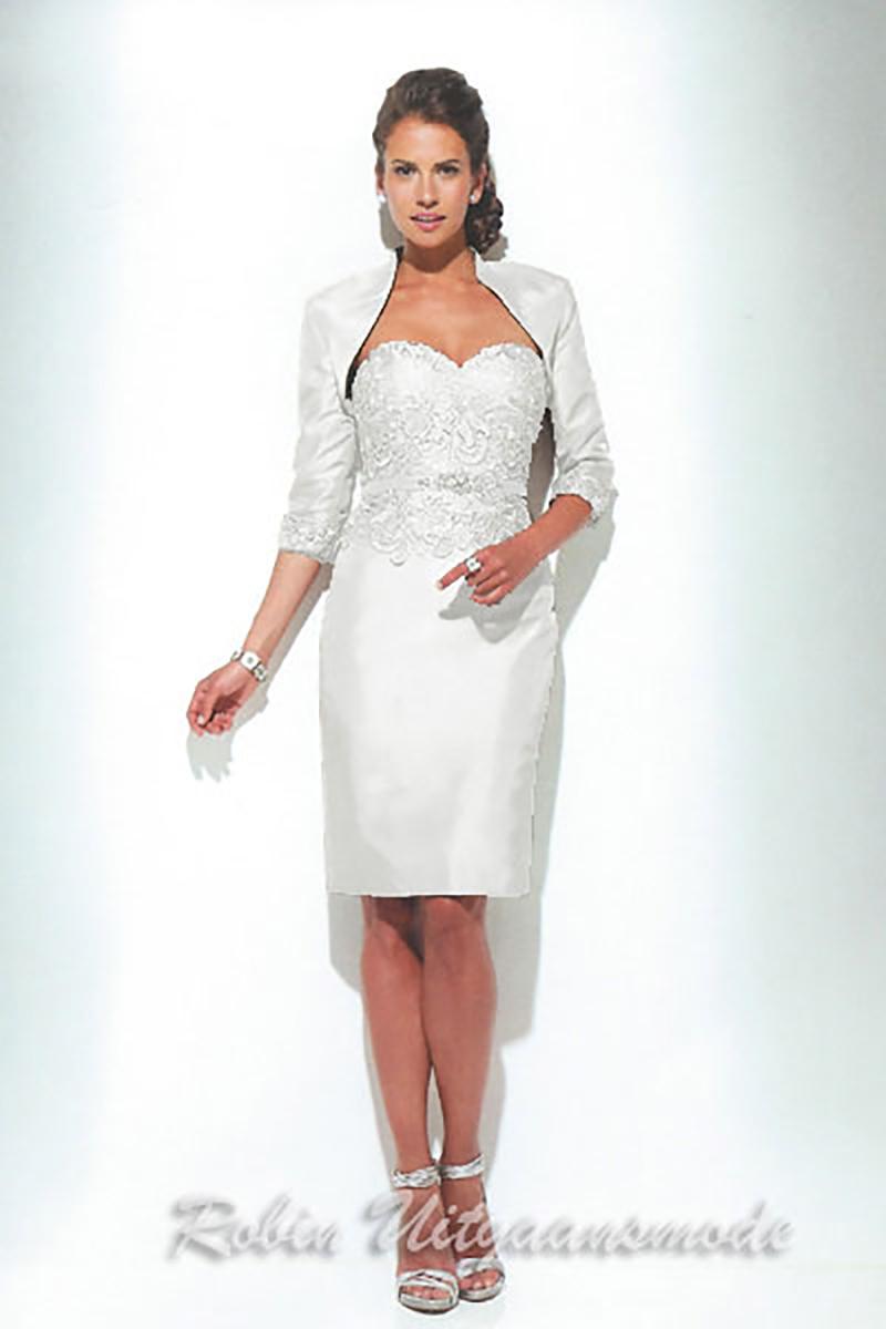 Moeder van de bruid jurk met jasje