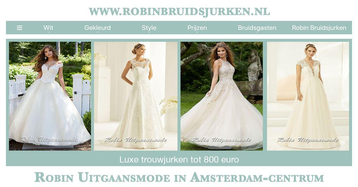 Bruidsjurken Prijzen.Luxe Trouwjurken Tot 800 Euro Betaalbare Designer Bruidsjurken Robin
