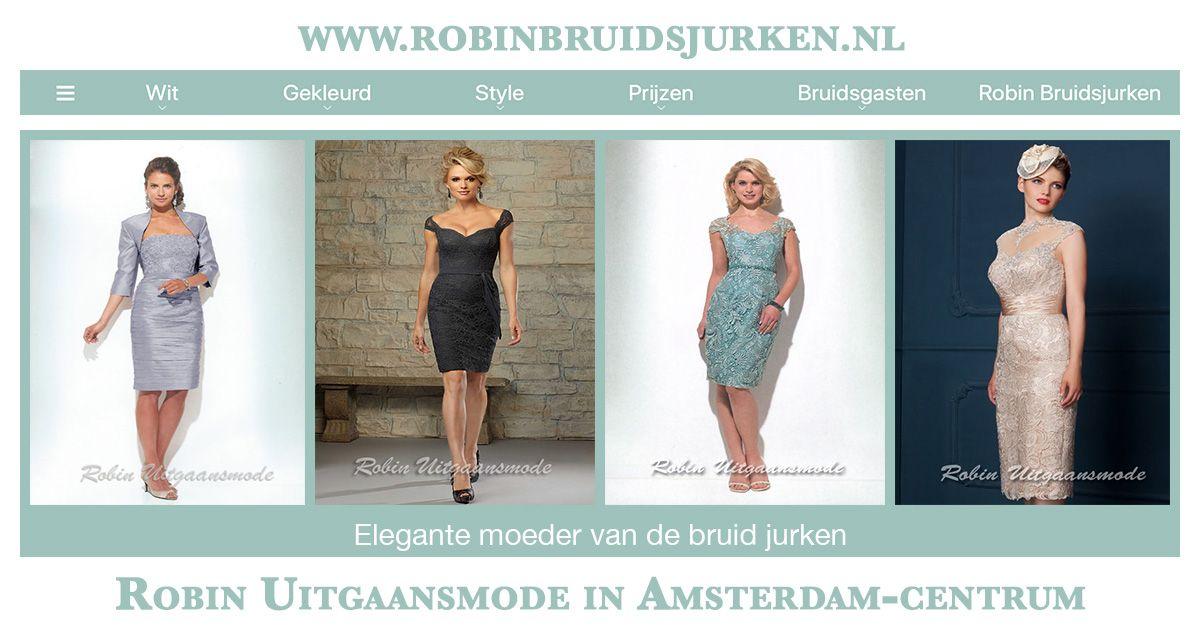 Galajurken Amsterdam Centrum.Stijlvolle Moeder Van De Bruid Jurken Met En Zonder Jasje Robin