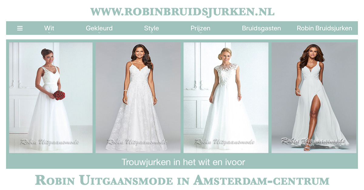 Bruidsjurken Prijzen.Witte Trouwjurken Bruidsjurken In Het Ivoor Robin